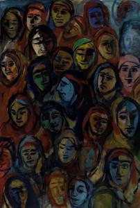 Gesichter der Unterdrückten